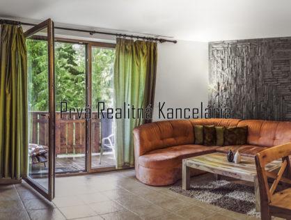 Predaj 2i. apartmánový byt /54m2/ Balkón, FATRAPARK 2, Hrabovská dolina